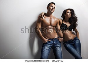 stock-photo-fashion-shoot-of-a-sexy-couple-69025492